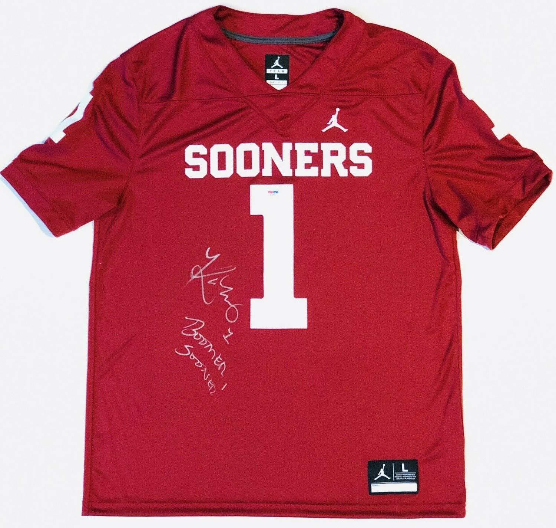 the best attitude c3ba3 6137f Memorabilia PSA/DNA Oklahoma #1 Kyler Murray Autographed ...