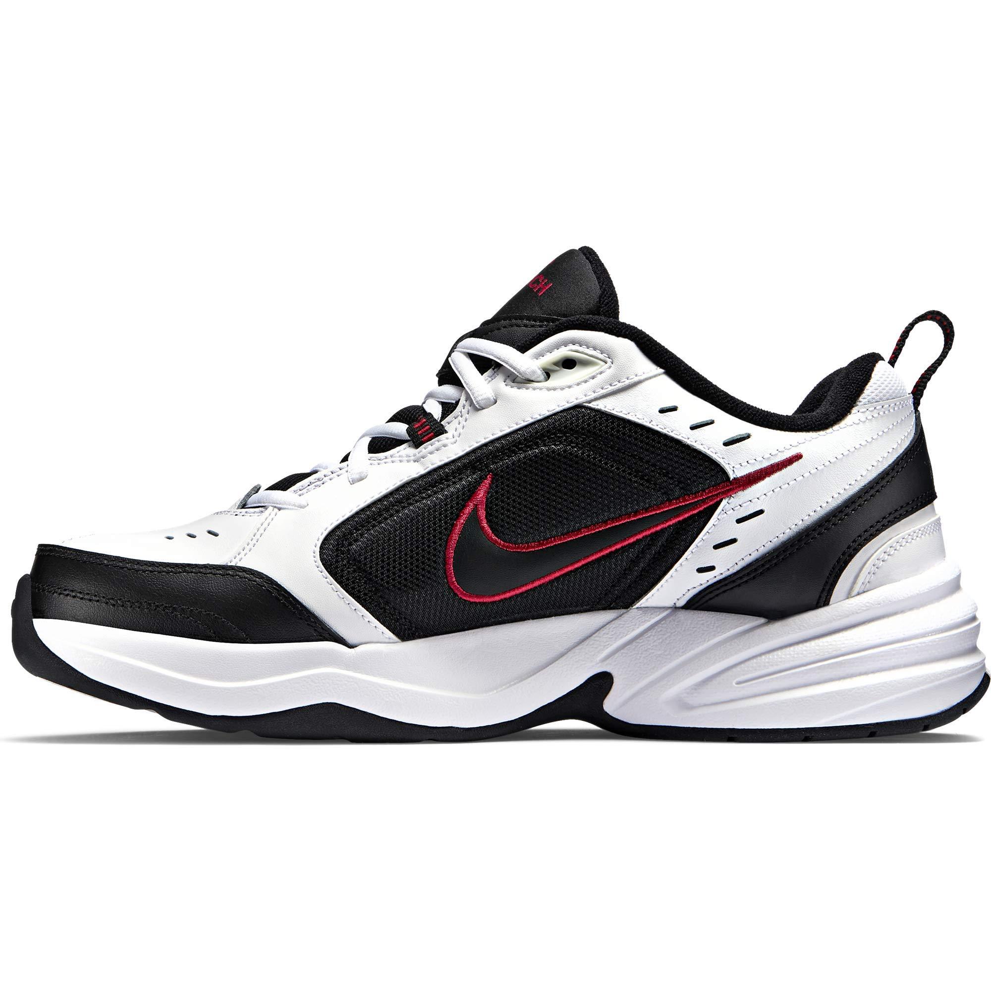 Nike Men's Air Monarch IV Cross Trainer, White/Black, 7.0 Regular US by Nike (Image #6)