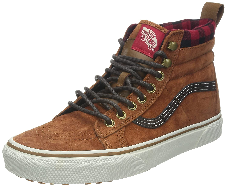 Vans Sk8 hi MTE  Unisex Erwachsene Lauflernschuhe Sneakers  Braun Glazed Ginger  36 EU