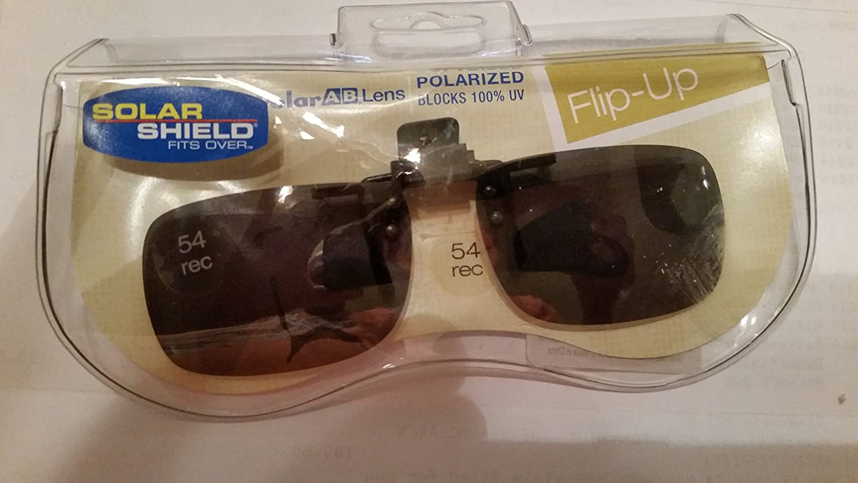 90fd5ccd4c Amazon.com  54 REC Solar Shield Flip up Polarized Sunglasses  Health    Personal Care