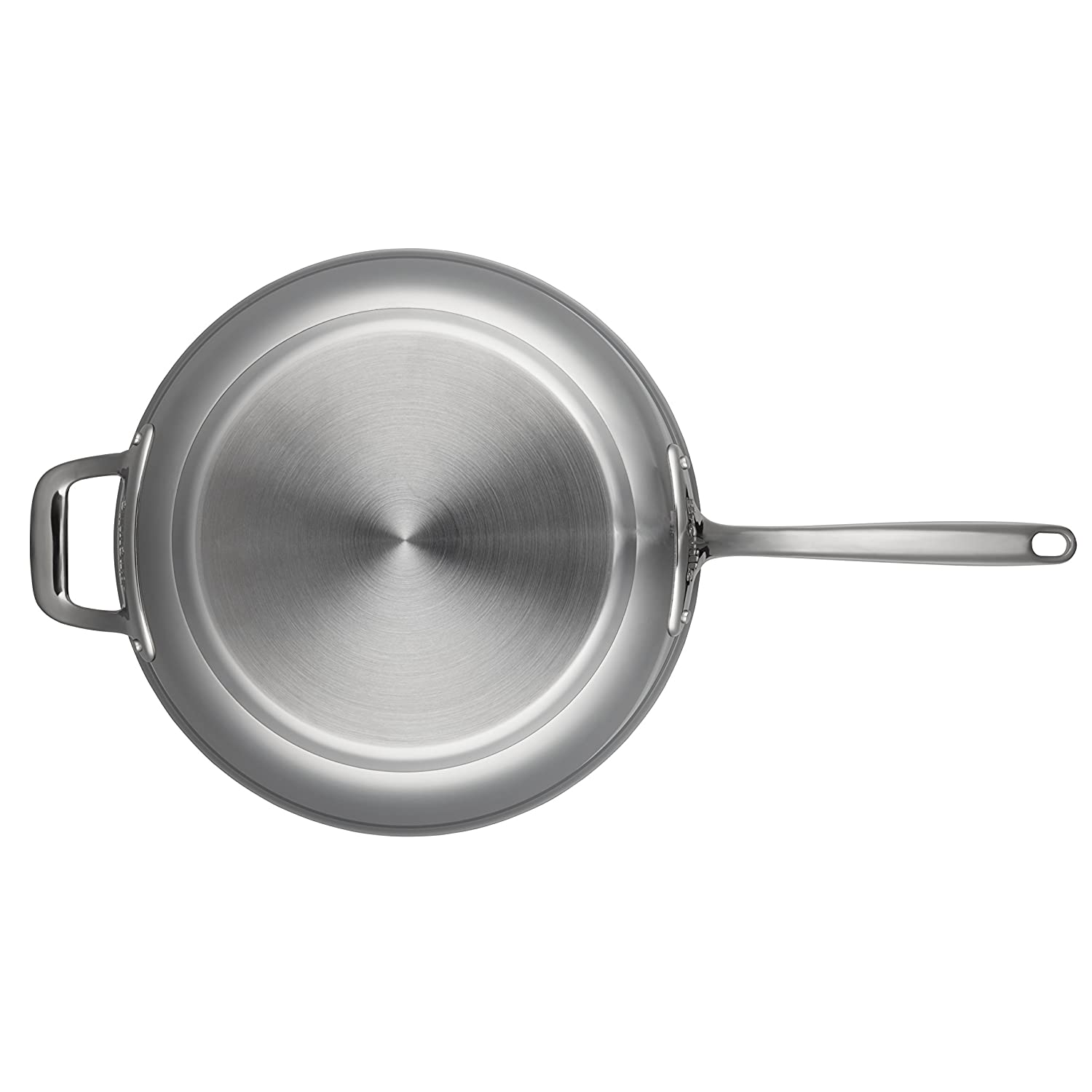 Breville Thermal Pro Clad Stainless Steel 10-Inch Fry Pan 32074