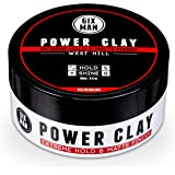6IXMAN™ - POWER CLAY - WEST HILL - High Hold with a Matte Finish, Hair Clay, Water-based, Washes out Easily - 90 grams