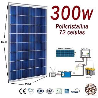 Panel solar de alto rendimiento de 300W Fotovoltaico Polycrystalline