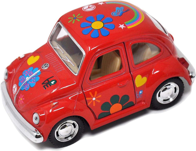 VW Beetle, Color Options for Miniature Garden, Fairy Garden, Red