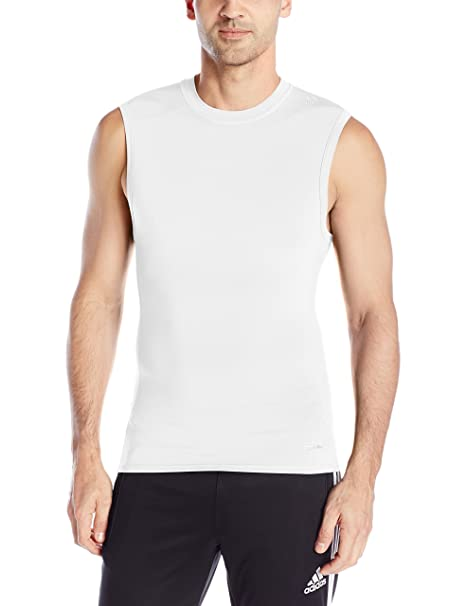a625101f5db Amazon.com: adidas Men's Training Techfit Sleeveless Baselayer Tee: Clothing