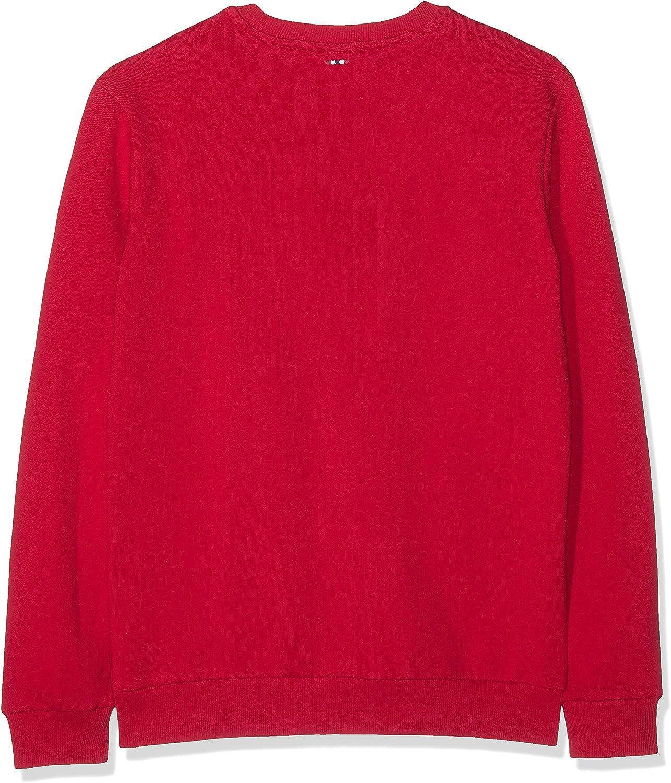 Napapijri Herren Bevora C True Red Sweatshirt Rot (True Red R70)