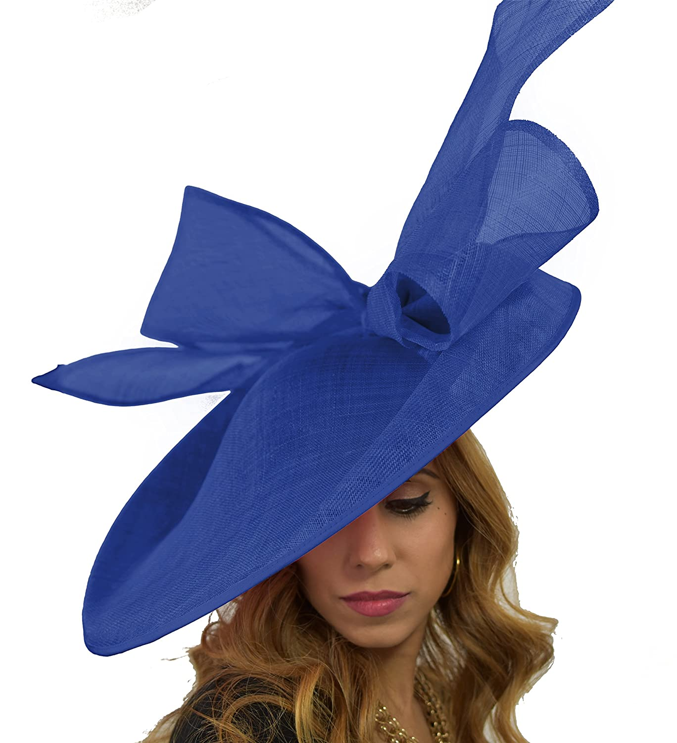 8504fc80a1f Hats By Cressida Royal Blue Wedding Fascinator Hat for Ascot ...