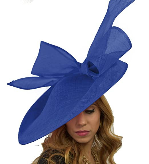 Hats By Cressida Royal Blue Wedding Fascinator Hat for Ascot ... a87e68415a6