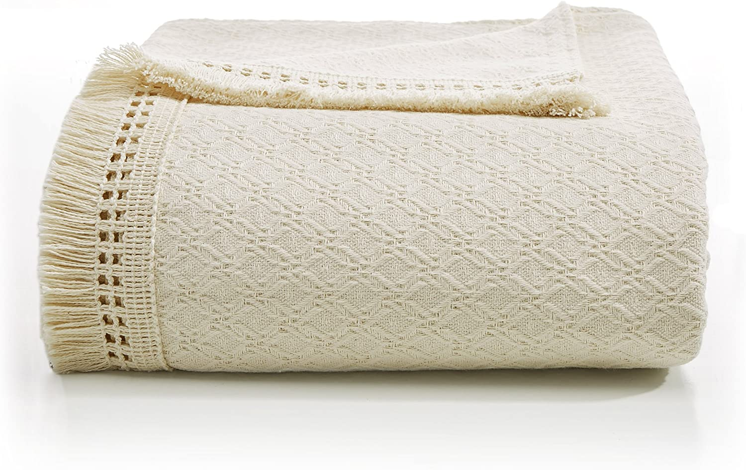 LaMont Home Woven Jacquard Collection Cotton Blend Bedspread