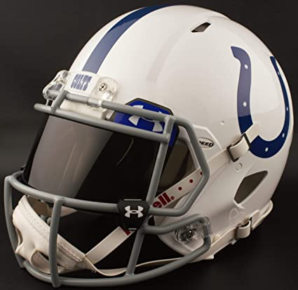 low priced 49c74 2780e Amazon.com : Riddell Custom Indianapolis Colts Full Size NFL ...