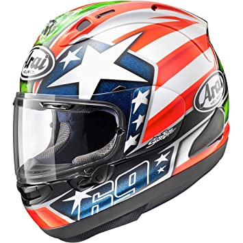 Casco Arai RX-7V Nicky Hayden réplica (M)