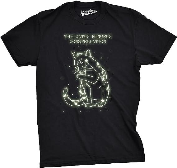 Amazon Com The Catus Minorus Constellation Glow In The Dark T Shirt