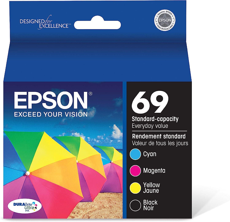 Epson T069120-BCS DURABrite Ultra Black & Color Combo Standard Capacity Cartridge Ink