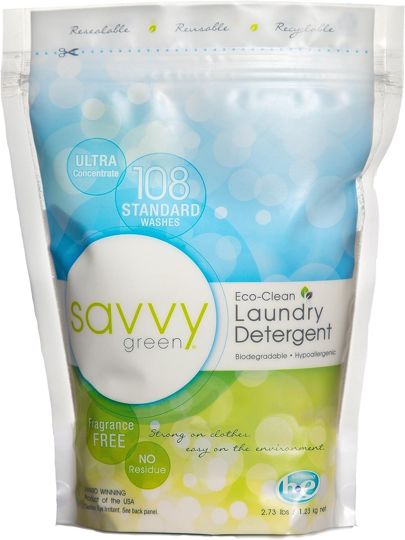 SAVVY Green - Polvo para colada (1,23 kg): Amazon.es: Salud y ...