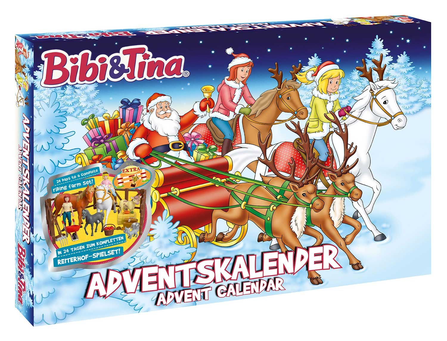 Craze 57460 - Adventskalender Bibi und Tina Craze_57460