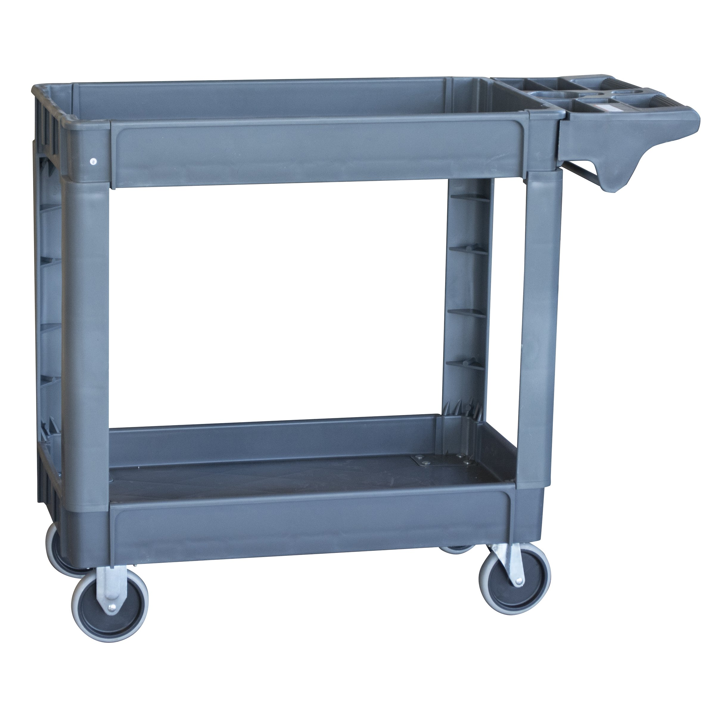 Pro Series SCART550 Two-Shelf Heavy Duty Utility Cart with 550 lb Capacity, Large