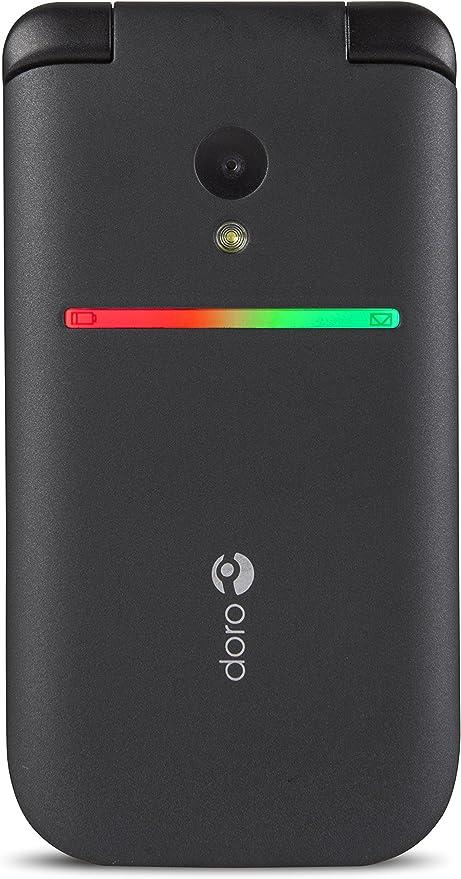 Doro PhoneEasy 609 96g Negro - Teléfono móvil (Flip, SIM única, 2 ...