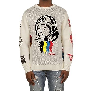 73df7b2e689 Amazon.com  Billionaire Boys Club BB Odysee Sweater in Black   White ...