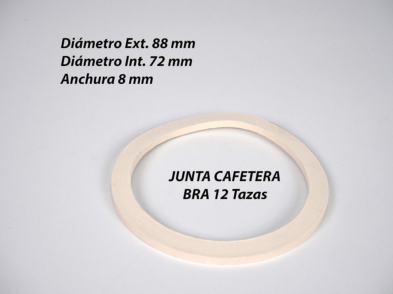Sanfor 57053 Blíster 2 juntas para cafetera BRA exprés 12 tazas ...