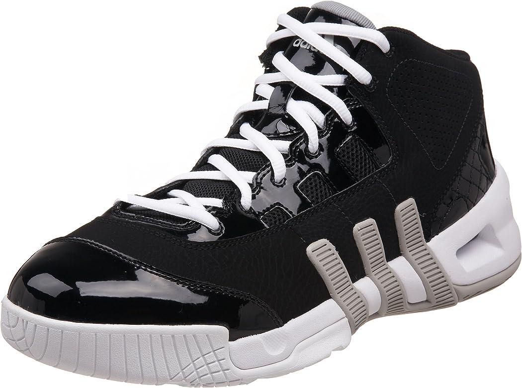 3288ab78673f4 Amazon.com | adidas Men's True Team Mid Basketball Shoe, Black/Ice ...