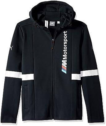 1a6ac3335276 PUMA Mens BMW Motorsport Hooded Sweat Jacket Blue  Amazon.ca ...