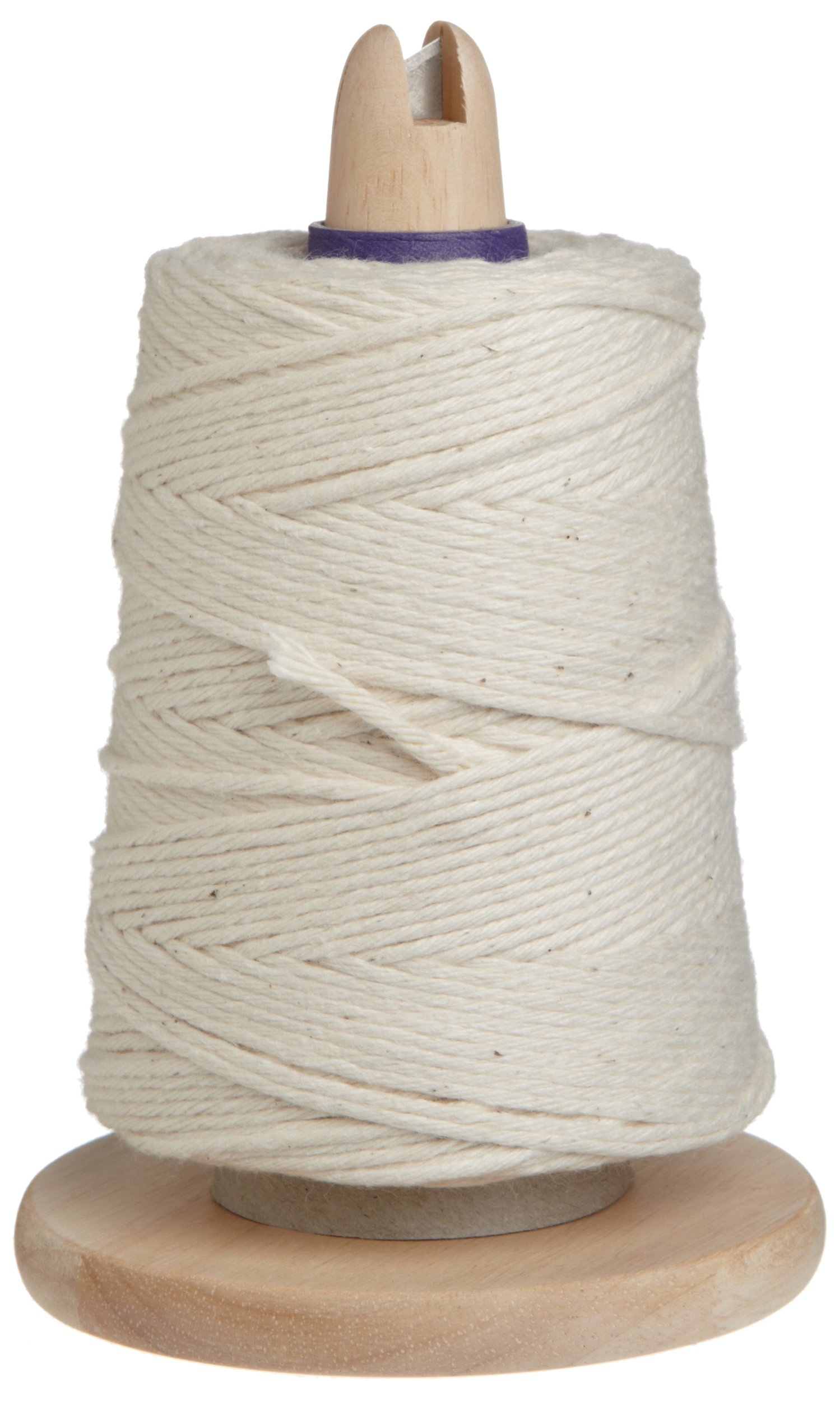 Regency Cooking Butcher's Twine on Handy Dispenser with Cutter for Meat Prep and Trussing Turkey