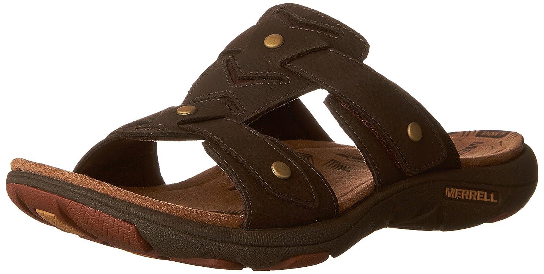Merrell Women's Adhera Slide II Athletic Sandal B01HIZW7F0 5 B(M) US|Brown