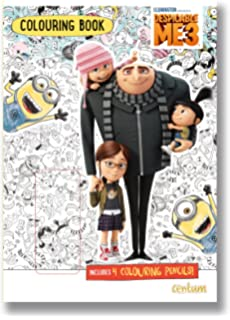 Despicable Me 3 Colouring Book