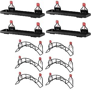 Rubbermaid Metal Shed Shelf (4 Pack) & Mounted Hose Holder (6 Pack)