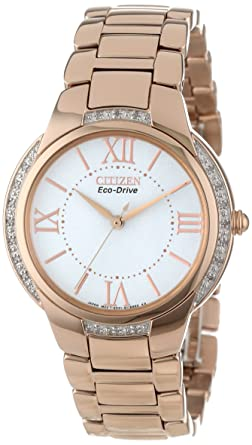 Image Unavailable. Image not available for. Color  Citizen Women s  EM0093-59A Ciena Eco-Drive Rose Gold-Tone Watch ... 8da2c1a72