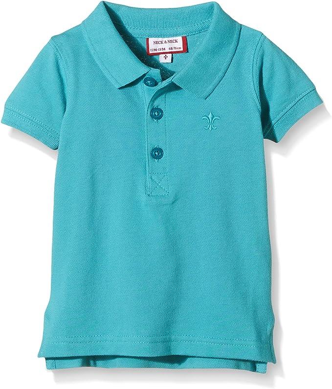 Neck & Neck - Polo para niño, color azul, talla 10A: Amazon.es ...
