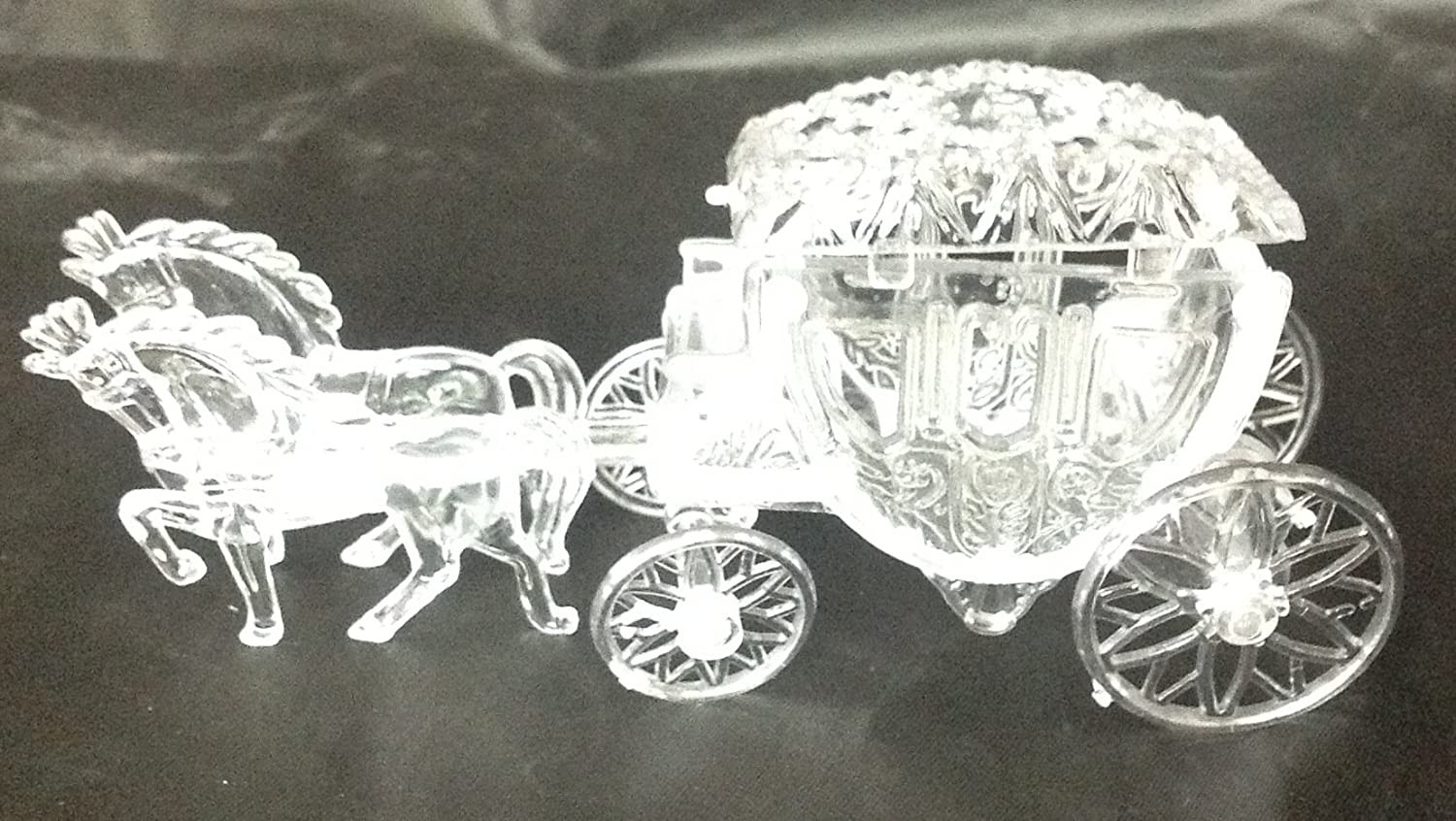 Amazoncom 12 Cinderella Coach Wedding Carriage Favor Plastic