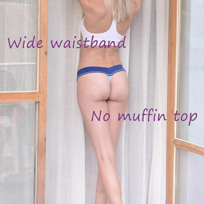 Soft Stretch Cheekies Multi Colors Pack DEEP TOUCH Womens Bikini Panties Hipster Underwear Women
