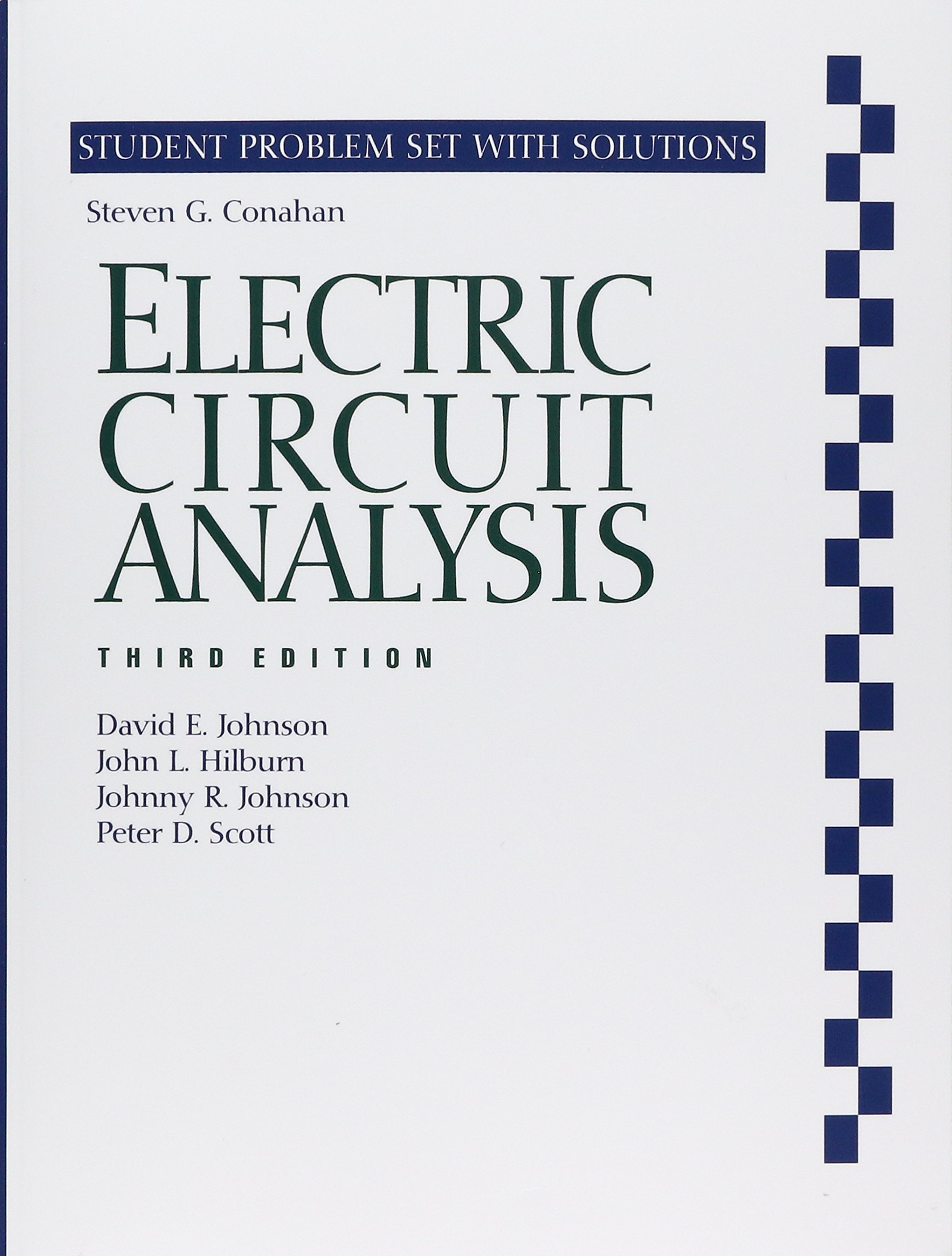 electric circuit analysis 3e student problem set and solutions rh amazon ca