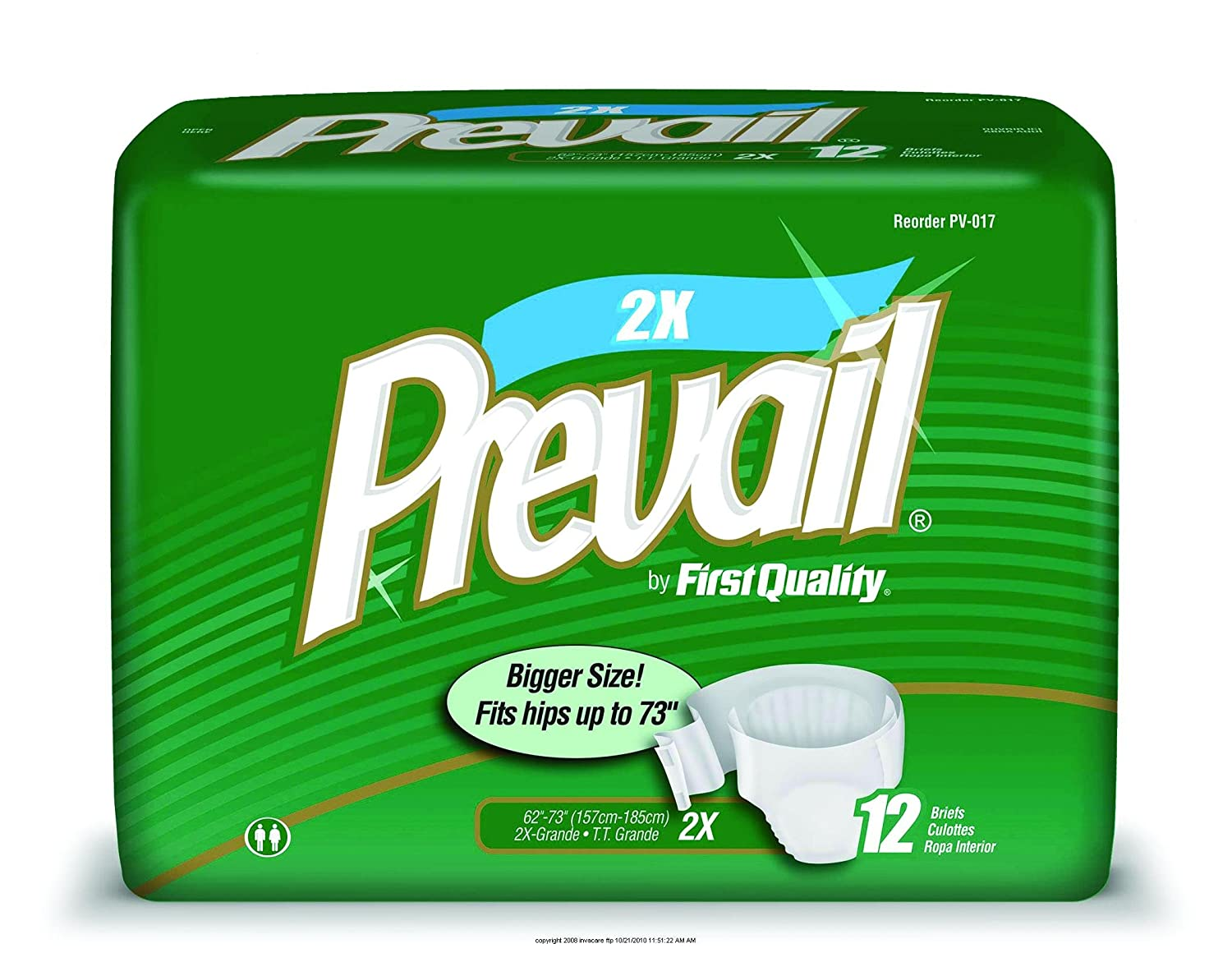 Amazon.com: Prevail Specialty Size Briefs, Prevail Youth Brief, (1 CASE, 96 EACH): Health & Personal Care