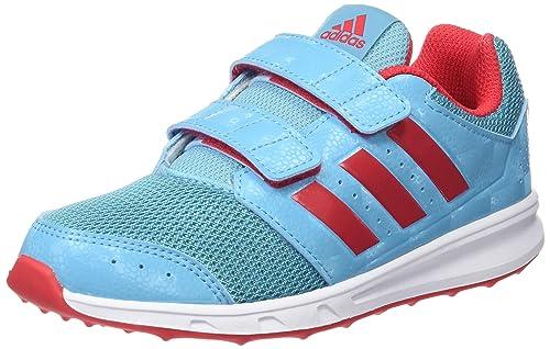 newest b4aa3 d13f5 adidas Boys Lk Sport 2 Cf K Trainers, Blue (AzuvapRojrayFtwbla