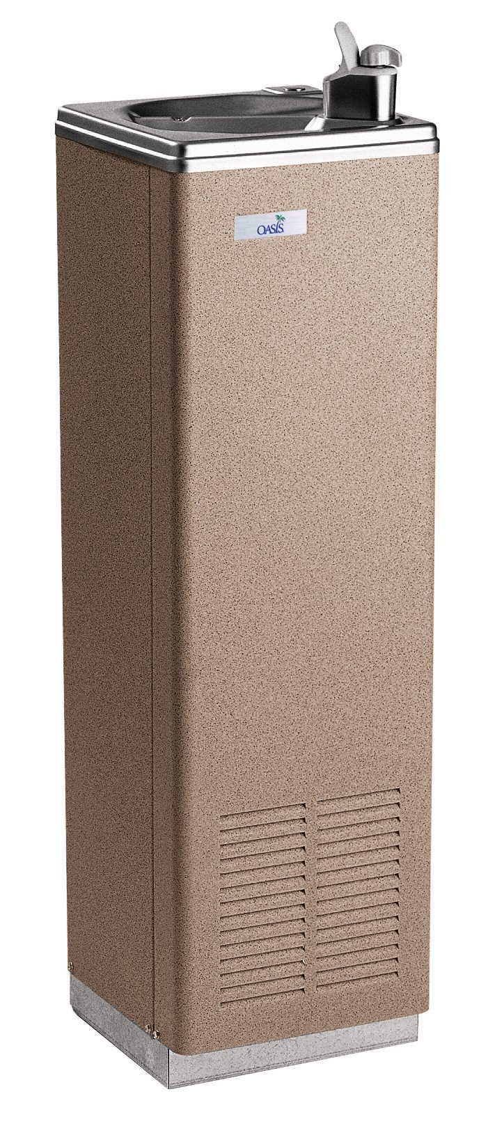 Oasis P5CP Compact Free-Standing Cool Water Drinking Fountain, 5 GPH, Sandstone