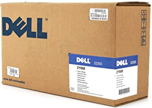 New Dell OEM S2500 Laser Printer 5,000 Page Black Toner Cartridge R0883 2Y668