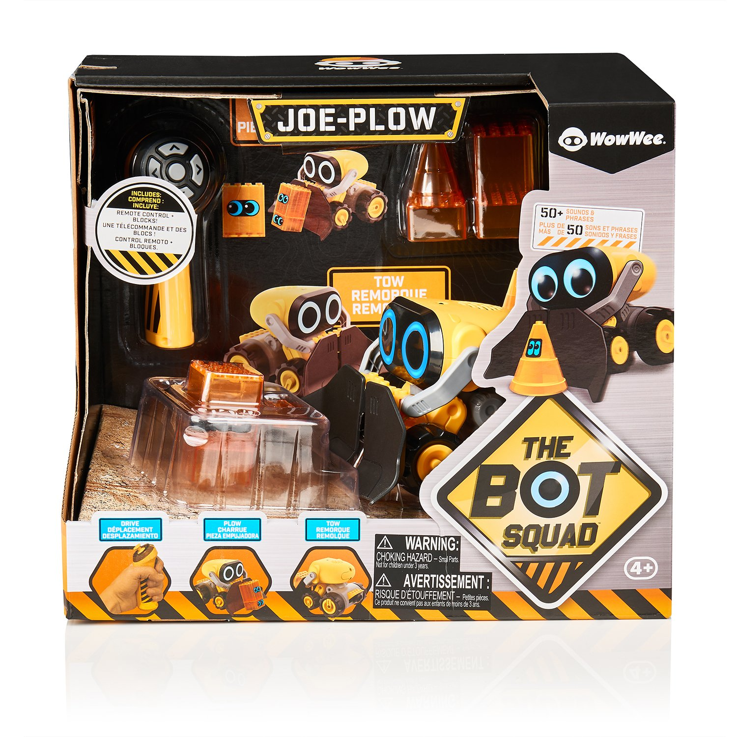 The Botsquad - Joe Plow - the path clearing remote control interactive robot toy -  by WowWee by WowWee (Image #9)
