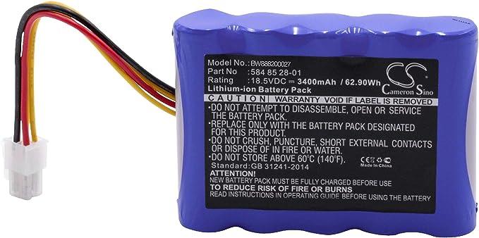 vhbw Li-Ion batería 3400mAh (18.5V) para cortacésped Robot cortacésped Husqvarna Automower 310 Modell 2018, 315 Modell 2015, 315 Modell 2016