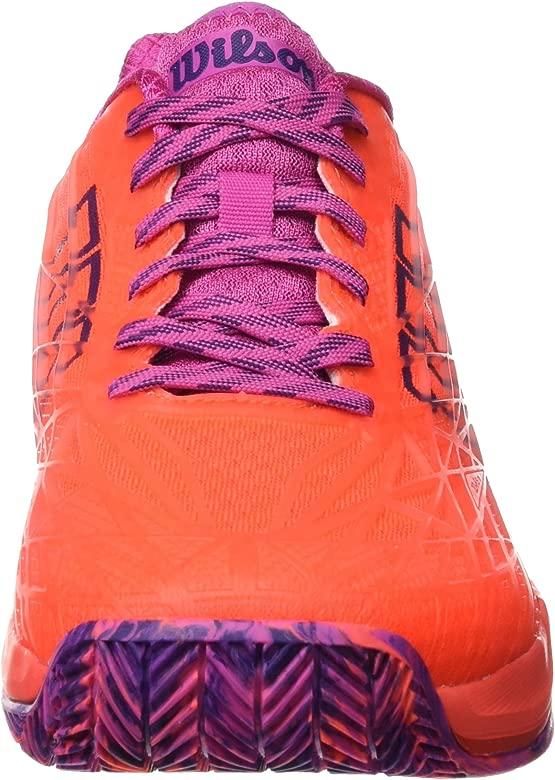 Wilson WRS323420E065, Zapatillas de Tenis para Mujer, Naranja ...