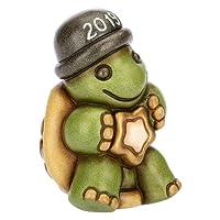 THUN Mini tartaruga buon 2019, in ceramica, h 7 cm