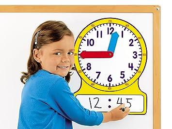 Amazon.com: Lakeshore Magnetic Teaching Clock: Toys & Games