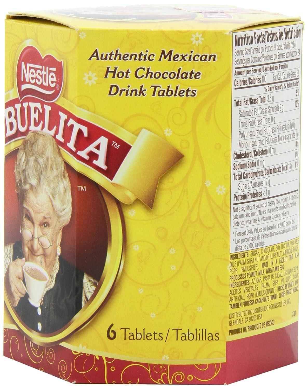 Amazon.com : Nestle Mexican Chocolate Abuelita Drink Mix, 6 Tabs ...