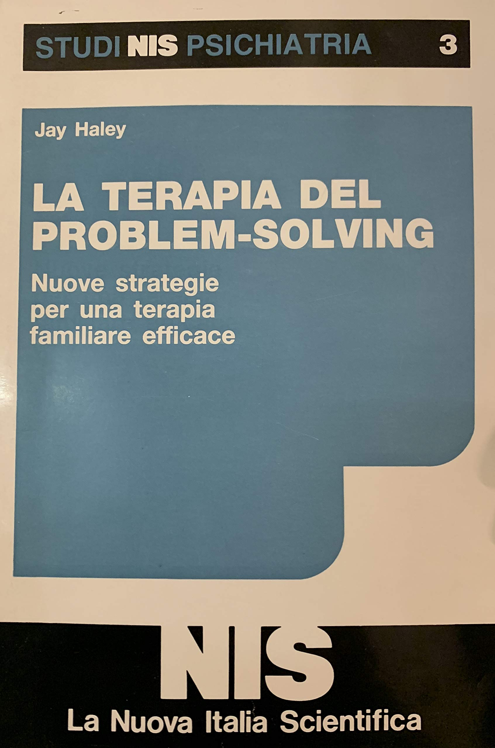 la terapia del problem solving jay haley