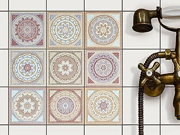 Fliesenaufkleber Für Bad Deko U. Küche   CREATISTO Fliesensticker |  Mosaikfliesen   Vinyl Fliesensticker |