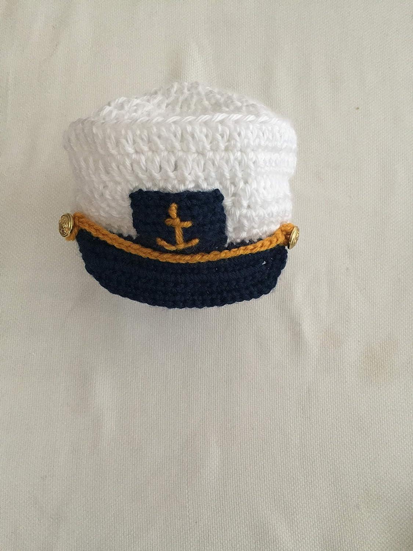 538c9ed4a Amazon.com: Baby Boy Sailor hat | Newborn Sailor Costume | Newborn ...