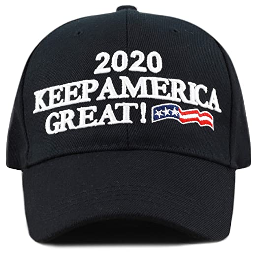 c04f498ed74 The Hat Depot Trump 2020 President Keep America Great Flag Cotton 3D Cap  (KAG -