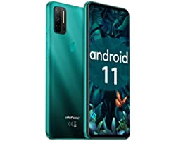 """Unlocked Smartphones Ulefone Note 11P (2021) Android 11 Unlocked Cell phones, 48MP Quad Rear Camera Triple Card Slots, 6.55"""""""