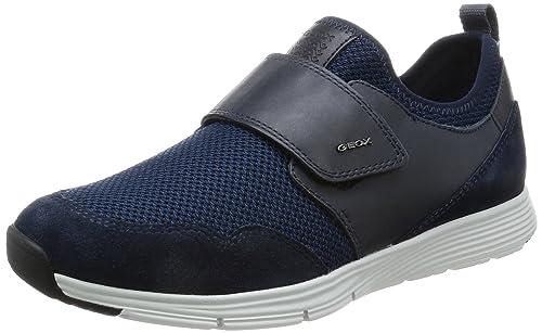 Geox U Damian C, Zapatillas para Hombre, Azul (Blue), 46 EU